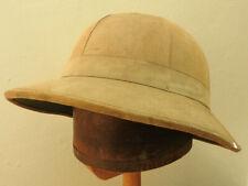 Original Military British WW2 Pith Helmet Sun Tropical Hat dated 1942 (5303)