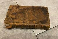 Altes Buch P.Ovidi Nasonis, 1780 Barock Buch komplett antik