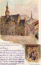 POSTCARD  GERMANY  BLANKENBURG