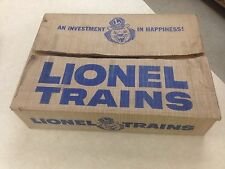 LIONEL #702 SET BOX - LENNY LION - ALL FLAPS COMPLETE -JUST THE BOX - NO TRAINS