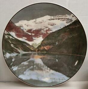 Royal Doulton Lake Louise & Victoria Glacier Banff National Park Canada c1940-56