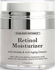 Pure Body Naturals Retinol Cream Moisturizer for Face 1.7 fl.oz