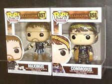 Gladiator Funko Pop Vinyl Figures Maximus Commodus Russell Crowe Joaquin Phoenix