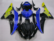 Blue Black ABS Injection Plastic Kit Fairing Fit for YAMAHA YZF R6 2008-2016 #07