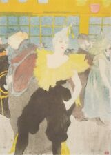 Clowness CHA U-Kao en Moulin Rouge Henri de Toulouse-Lautrec Belle Epoque Cartel