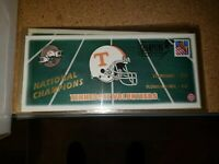 University of Tennessee  VOLS Stamp commerative national champions football ncaa