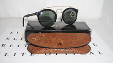 Ray Ban New Vintage GATSBY Style 4 W0932 USA CASE G-15 Round
