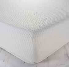 """80 x 200 CM REFLEX FOAM 5"""" ( 12.5 cm ) THICK MATTRESS WITH WASHABLE ZIP COVERS"""