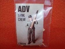 ADV ® 35228 Tank Crew personaje tanques resin German alemán WWII 1:35