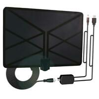 960 Miles TV Aerial Indoor Amplified Digital HDTV Antenna 4K HD Freeview TV Home