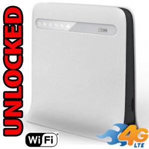 WIFI GSM 4G LTE Router ZTE MF253 Unlocked Battery LTE USA Latin Caribbean Modem