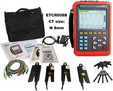 3 Phase Power Quality Analyzer Meter Energy Tester 008B Range AC 10mA to 10.0A