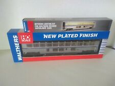Walthers HO Scale 932-16122 Amtrak Superliner II Lounge Phase 4B w/Lighting Kit