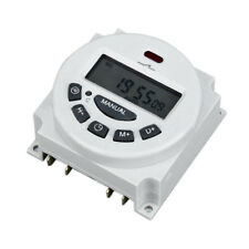 Digital Lcd Relay Switch Weekly Programmable Electronic Time Timer 12v24v220v