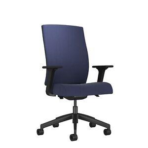 Ash High Back Office Chair - Dark Blue - RRP £395.18