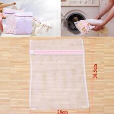 Zipped Wash Bag Laundry Washing Mesh Net Lingerie Underwear Bra Clothes Socks P4