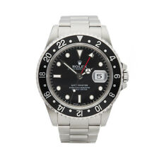 ROLEX GMT-MASTER STAINLESS STEEL WATCH 16700 W5270