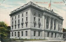 Lincoln NE~2nd/3rd Story Pillars~New Post Office~1911~Postcard