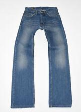"""Azul Denim Lee Recta Cierre De Botones Para hombres Informales Jeans se desvaneció Talla W28"""" L30"""""""