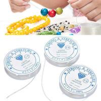 Fil elastique de perles de cristal a la longueru pour colliers et bracelets Kit