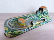 Marke Technofix jouet ancien en tôle lithographiée Cable Car Set Vintage Déco