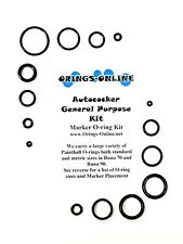 Autococker General Purpose Paintball Marker O-ring Oring Kit x 4 rebuilds / kits