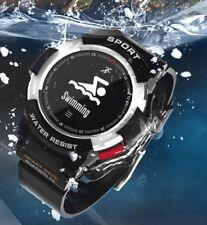 Smartwatch F6H Pulsuhr Smartband Uhr Fitnessarmband Tracker Sport Uhr Wasserfest