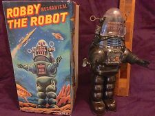'93 BILLIKEN ROBBY THE MECHANICAL ROBOT - THE FIRST EVER OFFICIAL TIN TOY ROBBY!