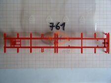 10x ALBEDO Ersatzteil Ladegut Chassis 40t f. Pritsche Plane Container 1:87- 0761