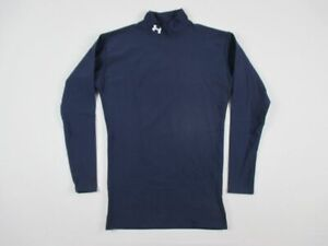 Under Armour Long Sleeve Shirt Men's Navy Compression New Multiple Sizes