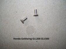 Honda Goldwing GL1200 1500 Brake Clutch Master Cylinder Sight Glass Lens Kit