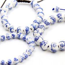 3Pcs Chinese Zodiac Dragon Ceramics Tibet Buddhist Prayer Beads Mala Bracelet