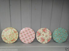 Unbranded Glass Floral Coasters