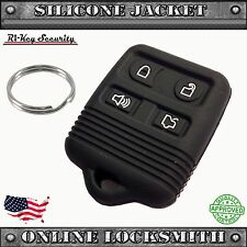 Remote Silicone Cover For Ford 4 Buttons Rubber Fob Protective Case
