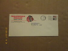 AHL Springfield Indians Vintage Style#3 1982 Dated Team Logo Business Envelope