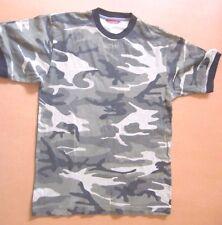 Men~Sz S~100% Cotton~T-Shirt~UNIONBAY~Rib neck/sleeves~Stretch~Camouflage~EUC