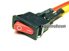 x2 Motorcycle Vehicle Universal Electric Equipment Switch ON/OFF Button Small