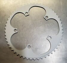 Vuelta 53T 135mm BCD Chainring. 5 Bolt. Aluminum. Silver. New no packaging