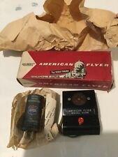 AMERICAN FLYER S GAUGE 708 DIESEL HORN CONTROL BOX NEW IN ORIGINAL BOX