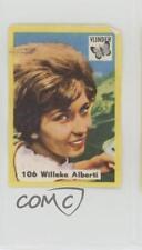 1950 1950s-76 Vlinder Matches Film TV and Music Stars #106 Willeke Alberti 0w6
