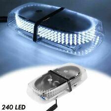 White 240-LED Light Bar Emergency Truck Strobe Lamp Commerical Trailer Light