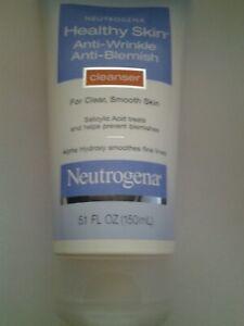Neutrogena anti-wrinkle anti-blemish cleanser 5.1 oz NEW