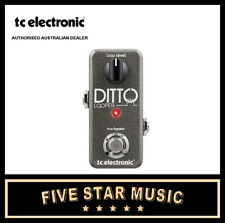 TC Electronic Ditto X2 Looper Guitar Loop FX Pedal 5 Minutes of Looping