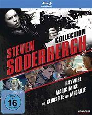2 Blu-rays *  STEVEN SODERBERGH COLLECTION (3 DVDs)  # NEU OVP $