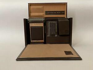 1971 Remington LEKTRO BLADE 29 Electric Shaver Original Case Vintage Razor Cord