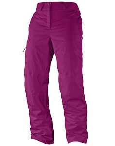 Ski Snowboard Trousers, Snowpants, Salomon Response Pant W, Purple, Size 32/2XR