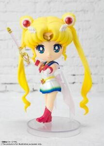 NEW! Bandai Tamashii Nations Figuarts Mini Sailor Moon Eternal Super Sailor Moon
