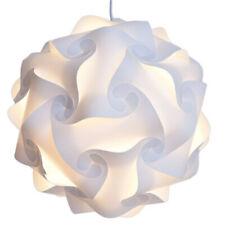 30pcs White IQ Light Lamp Shade Modern Decor Home Puzzle Jigsaw Lampshade