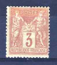 "FRANCE STAMP TIMBRE N° 86 "" SAGE 3c BISTRE - JAUNE "" NEUF x TB A VOIR  R099"