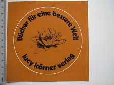 Aufkleber Sticker Lucy Körner Verlag (M1981)